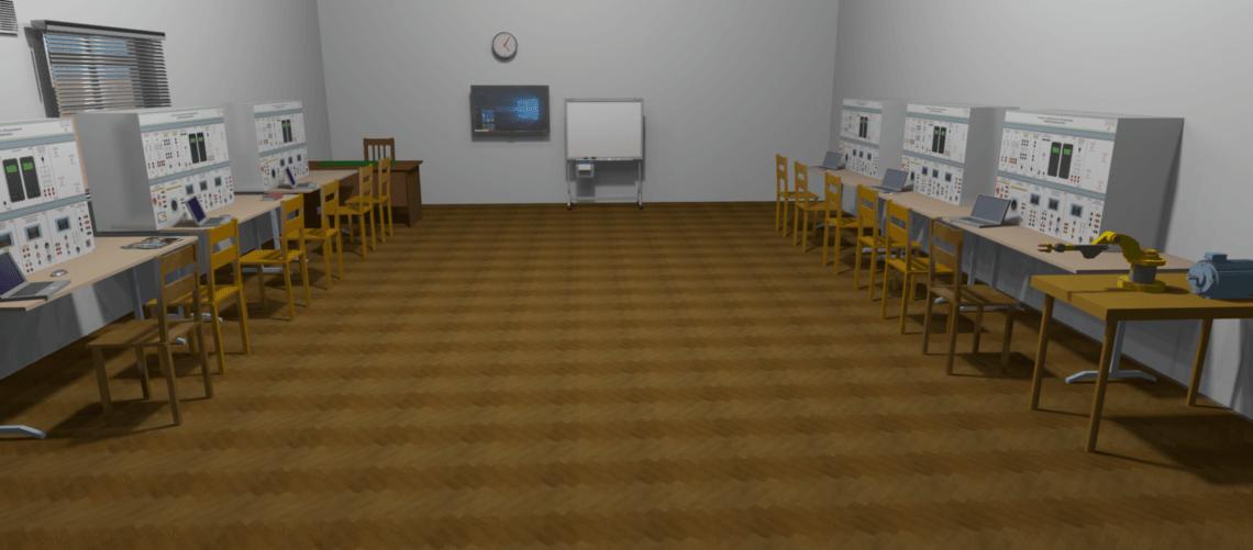 Учебные классы и лаборатории под ключ